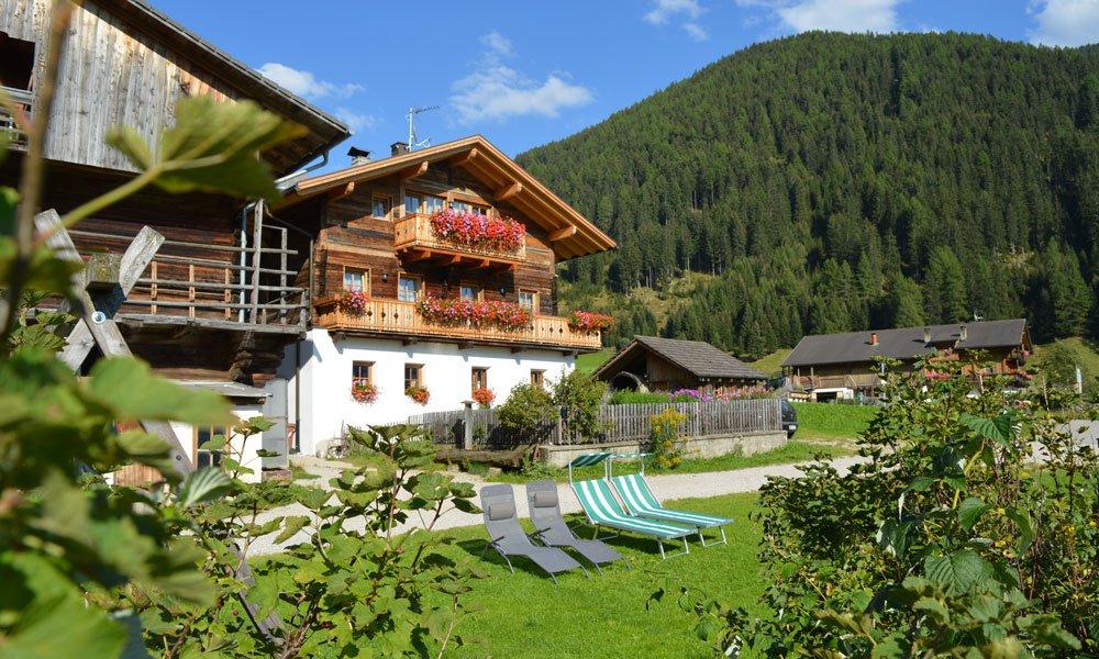 Der Bauernhof im Pustertal bietet Urlaub vom Alltag