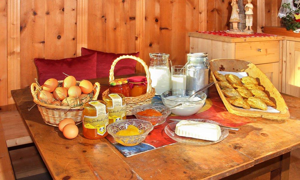I nostri prodotti agricoli: Il meglio della fattoria in Val Pusteria