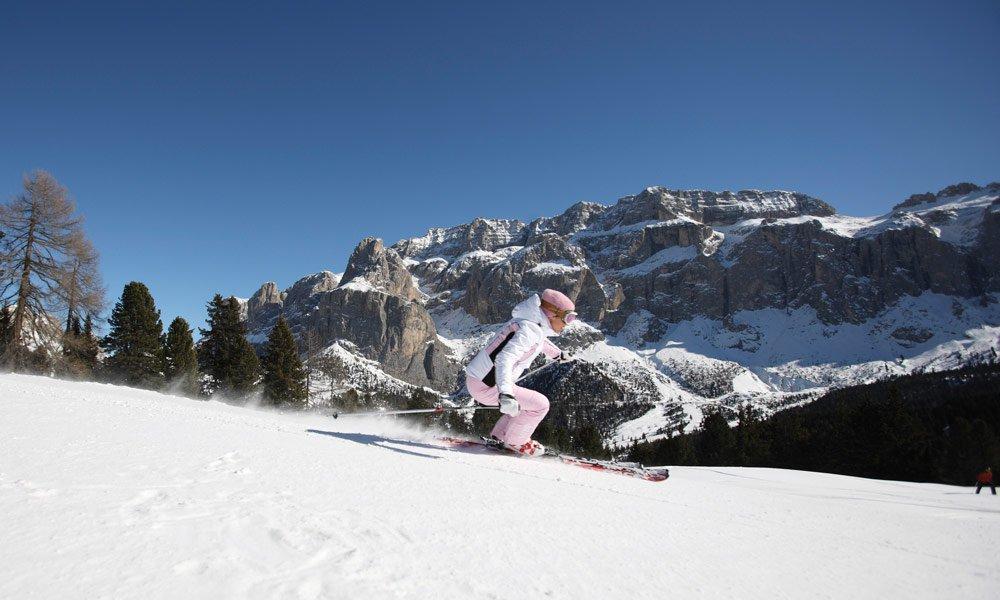 Der Urlaub auf dem Bauernhof im Winter bietet ein Paradies für Alpin-Skifahrer